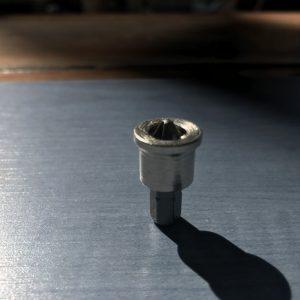Punta de atornillador corta con tope